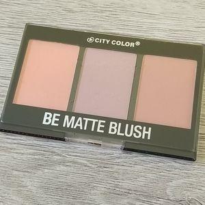 City Color Be Matte Blush palette